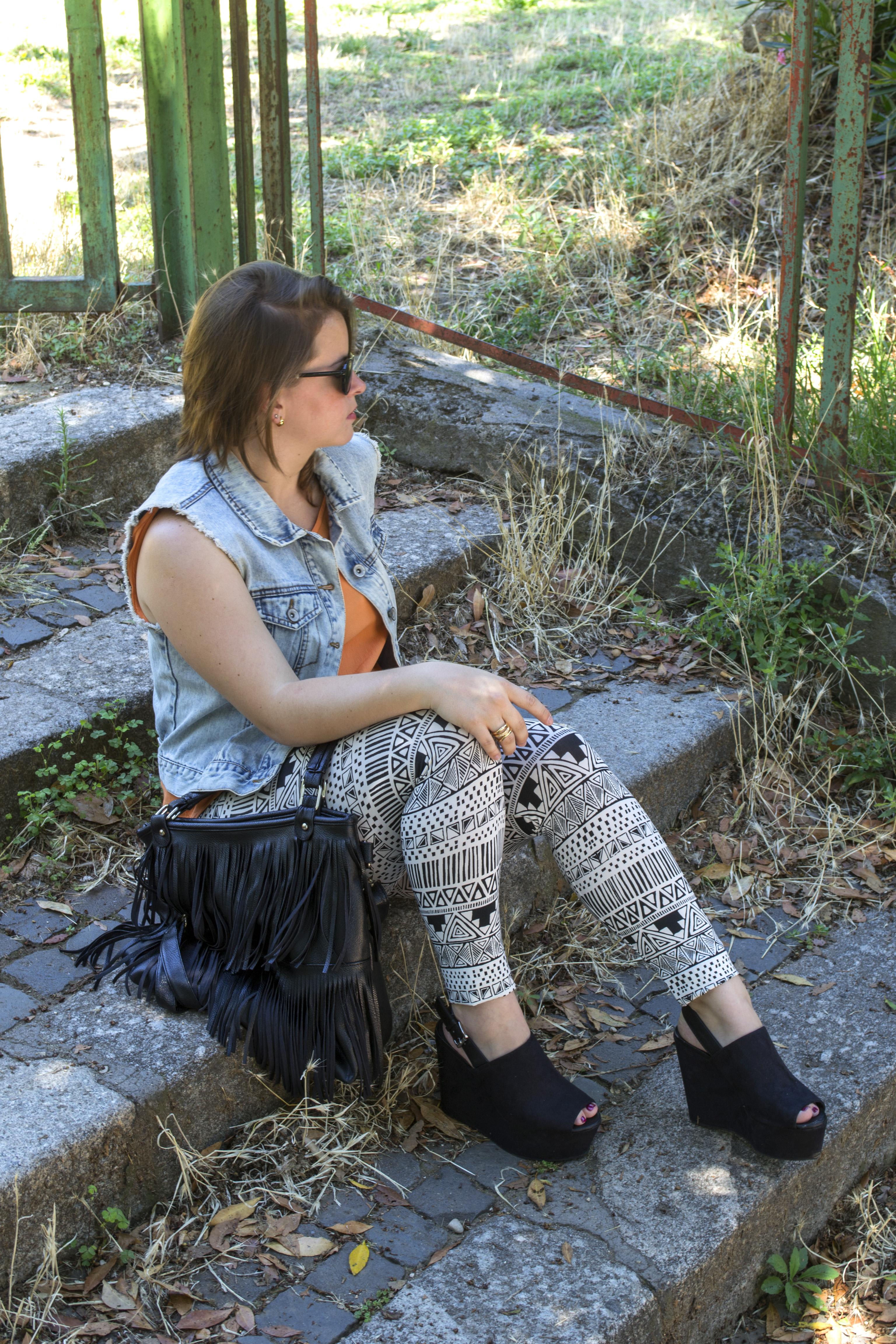 Hermosa en leggins negros - 3 part 10