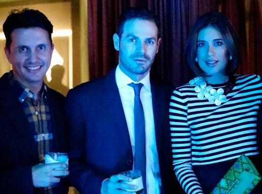 Eduardo FIgueroa, Agusto Castillo, Alejandra Guzman