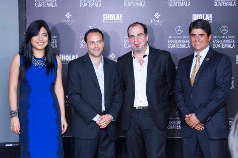 Carol Márquez, Carlos Maldonado, Daniel Panedas, Héctor Leal