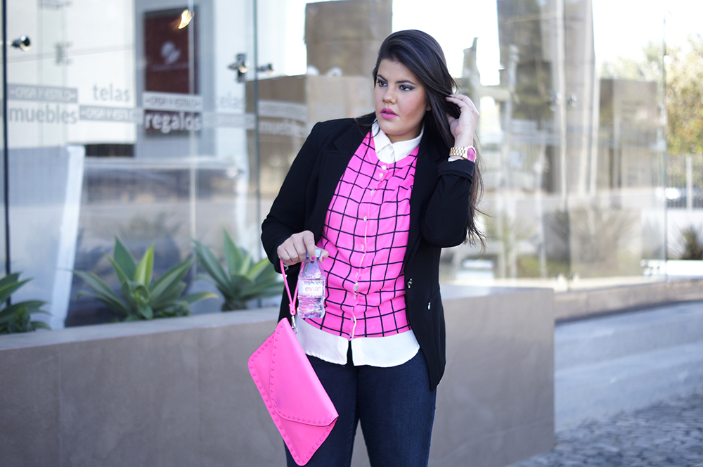 For a job interview Shine in Fuchsia