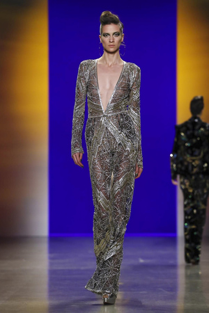 Naeem Khan, Fashion Show, Ready To Wear Collection Fall Winter 2018 in New York