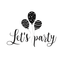 logo lets party